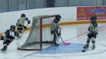 Young hockey players allowed back into league