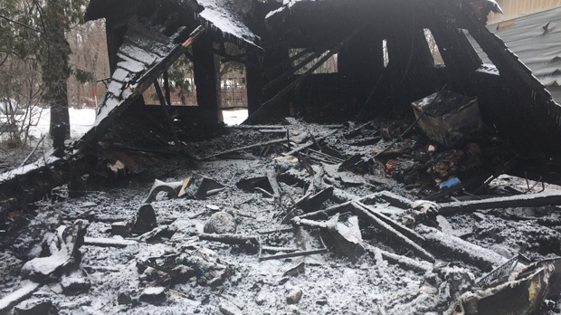 Fire that destroyed Grand Beach cottage believed to be caused by space heaters