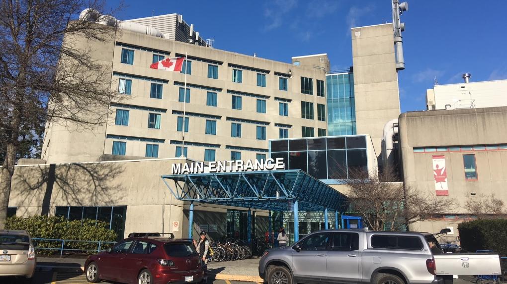 victoria general hospital entrance