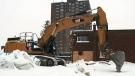 Demolition of homes in Herongate underway