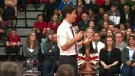 Justin Trudeau is attending a nomination event in N.B. riding of Fundy Royal.