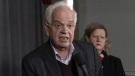 Canadian Ambassador to China John McCallum responds to questions following a participation at the federal cabinet meeting in Sherbrooke, Que., Wednesday, Jan. 16, 2019. THE CANADIAN PRESS/Paul Chiasson