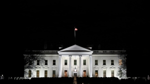 A view of the White House in Washington, Wednesday, Jan. 23, 2019. (AP Photo/Susan Walsh)