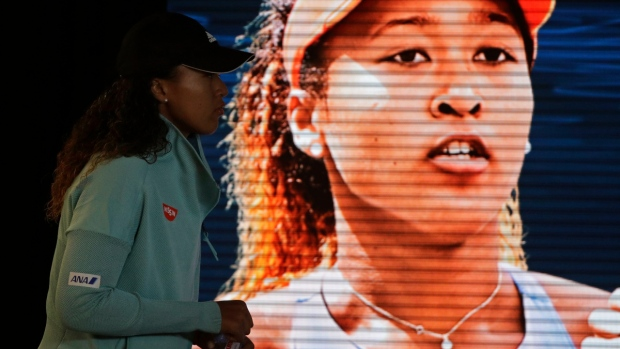 Naomi Osaka at the Australian Open