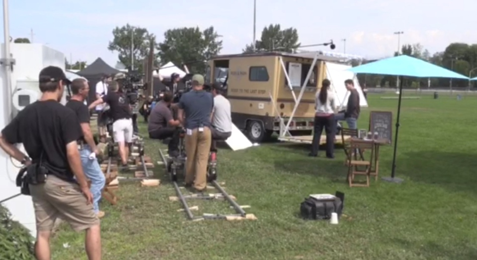 The TV series Carter films in North Bay