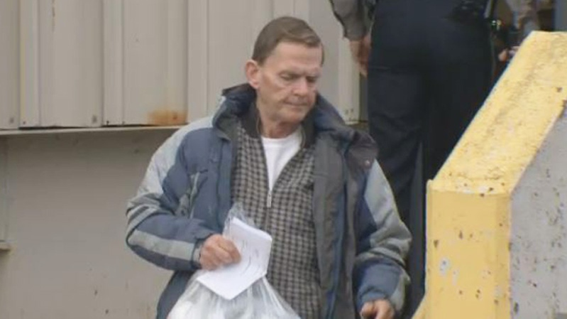 Michael Patrick McNutt appears in Dartmouth provincial court on Jan. 24, 2019.