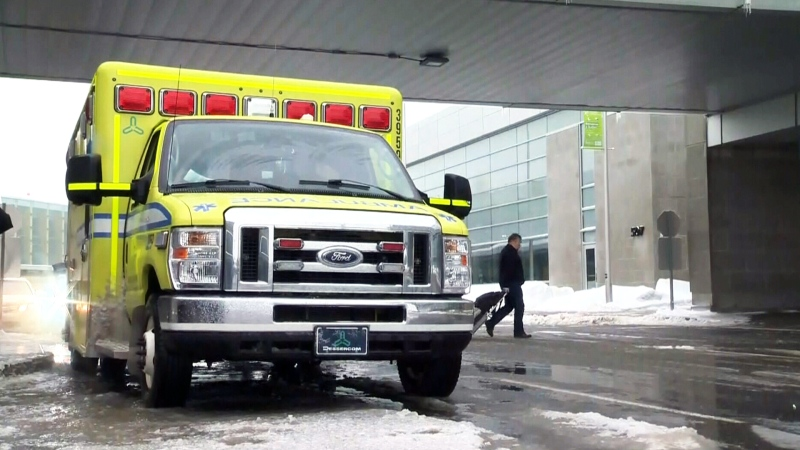 Quebec ambulance - file photo.