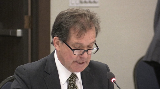 Timmins Mayor George Pirie