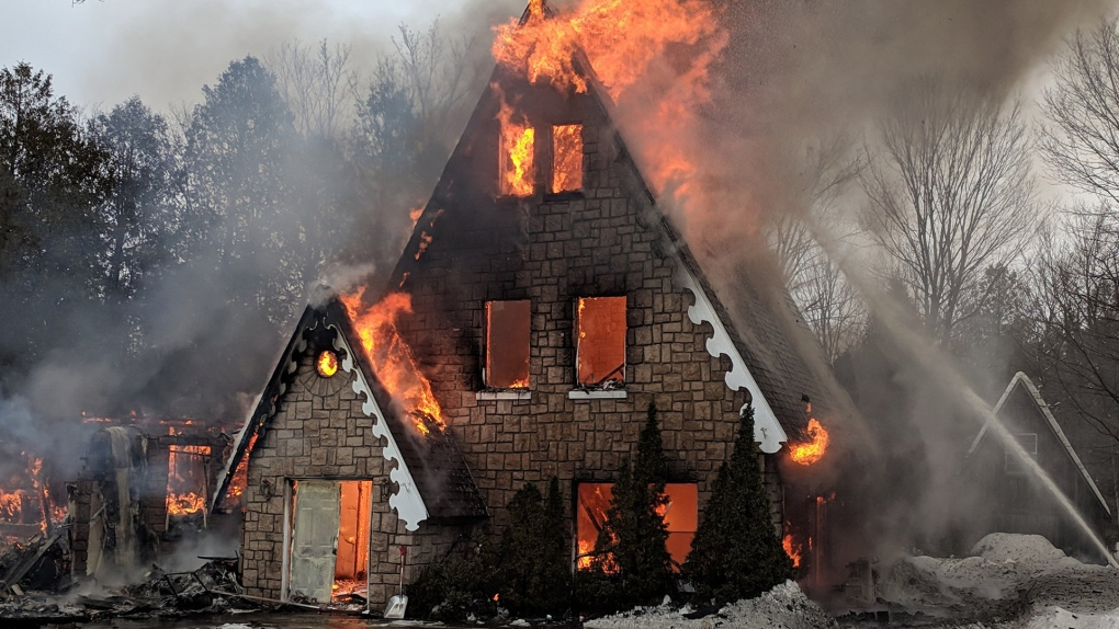 Cumberland house destroyed by fire