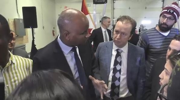 Canada's immigration minister Ahmed Hussen