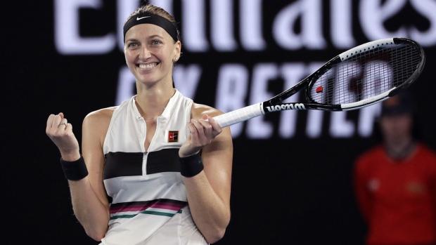 Petra Kvitova at the Australian Open