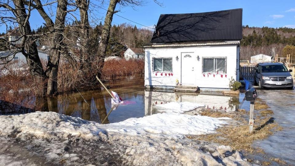Saint John's Glen Falls neighborhood was hard hit by localized flooding on Jan. 25, 2019.