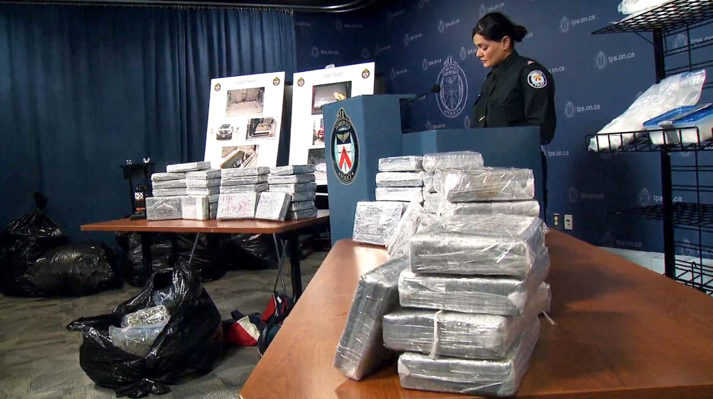 Police seize $7 6M worth of cocaine, marijuana in Toronto