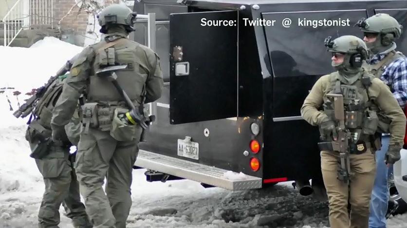 Arrests in Kingston