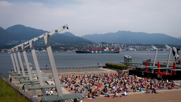 Yoga in B.C.