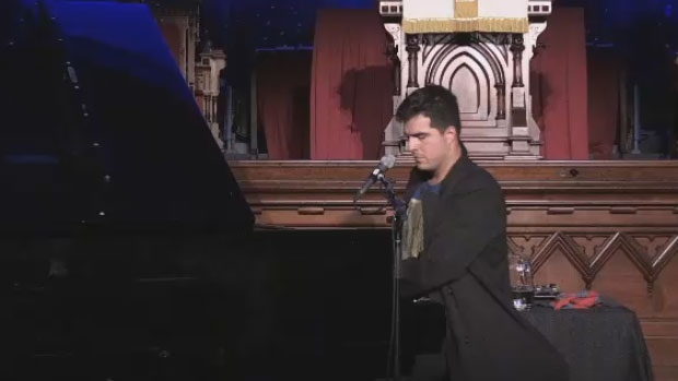 Fredericton native Jeremy Dutcher performs in his hometown for the first time since his debut album won the coveted Polaris Music Prize in September.