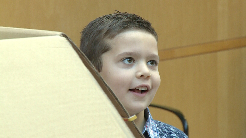 MathieuKochaniec, six, asked for donations to Windsor Regional Hospital instead of birthday presents.