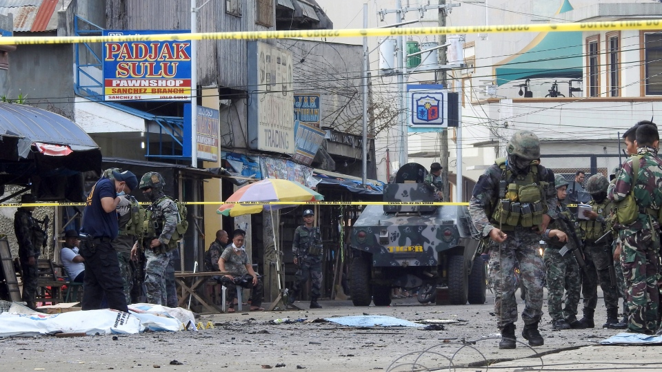 Philippines church bombing