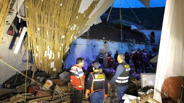 Peru building collapse