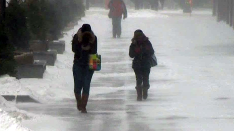 Snow squalls predicted for the Montreal region on Wednesday