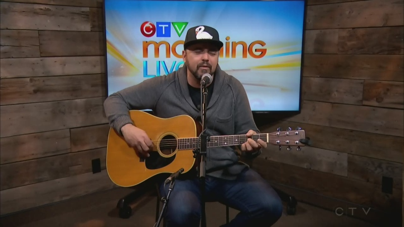 Hawksley Workman, seen here performing on CTV Morning Live pre-pandemic, is headlining the Festival of Small Halls this year.