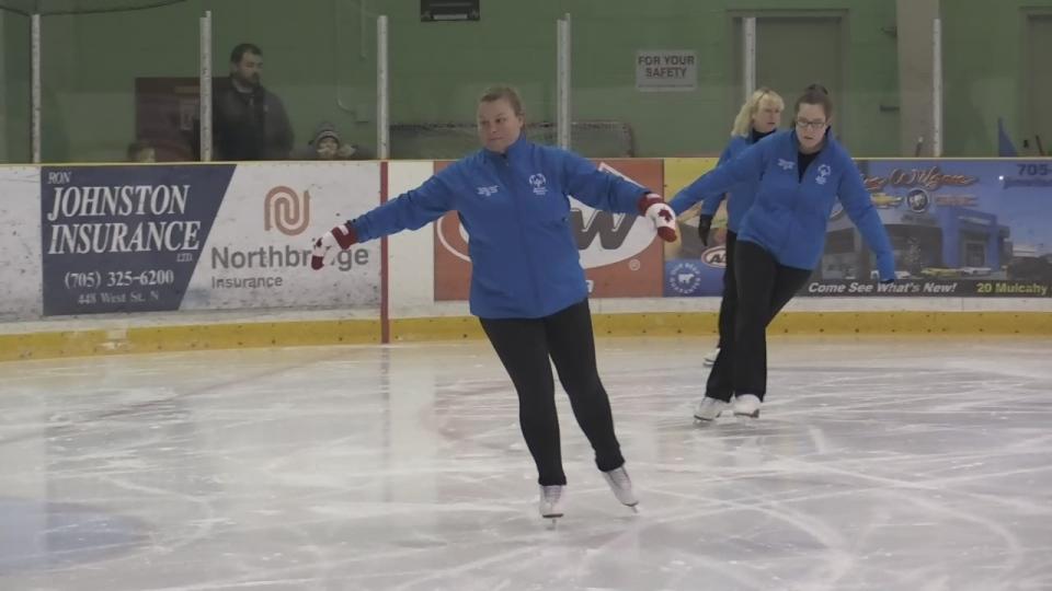Orillia skaters
