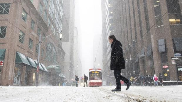 Snow Storm Toronto: Winter Snowstorm Slams Toronto And GTA Causing Delays