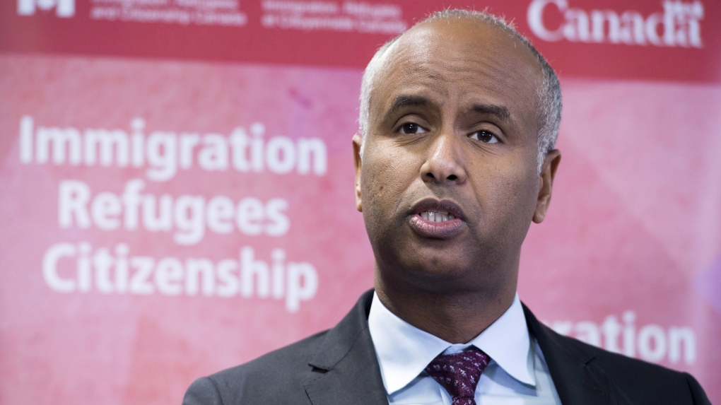 Minister of Immigration Ahmed Hussen