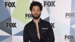 "In this May 14, 2018 file photo, Jussie Smollett, a cast member in the TV series ""Empire,"" attends the Fox Networks Group 2018 programming presentation afterparty in New York.(Photo by Evan Agostini/Invision/AP, File)"