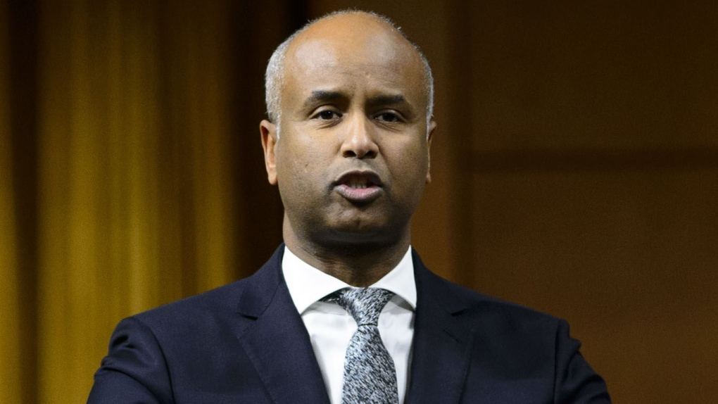 Ahmed Hussen, Minister of Immigration