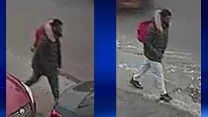 Laval police supplied these photos of a man who exposed himself to a woman in Chomedey on Dec. 6, 2018