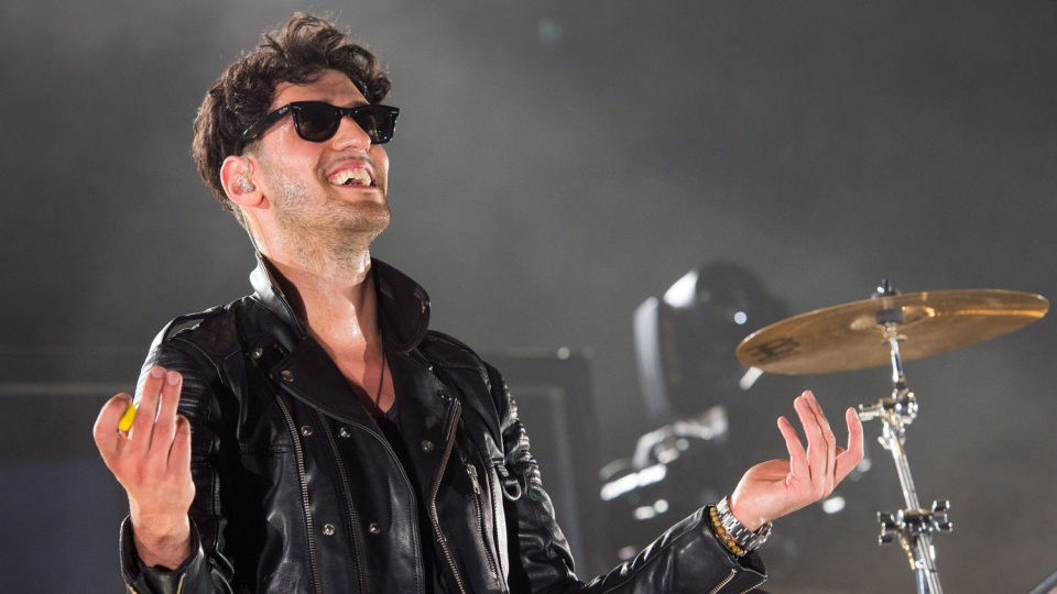 Dave Macklovitch, lead singer with Montreal funk duo Chromeo.