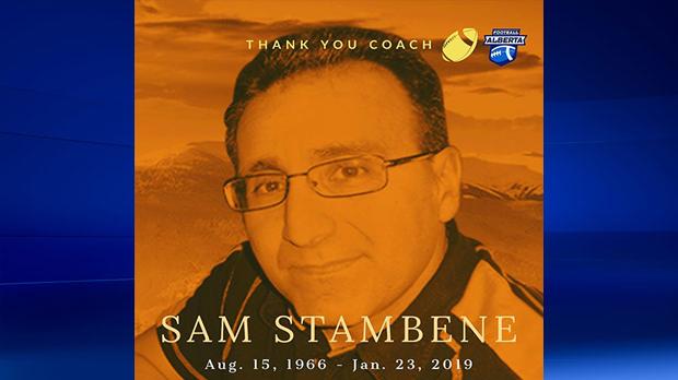 Sam Stambene, postscript, football, St. Francis Br
