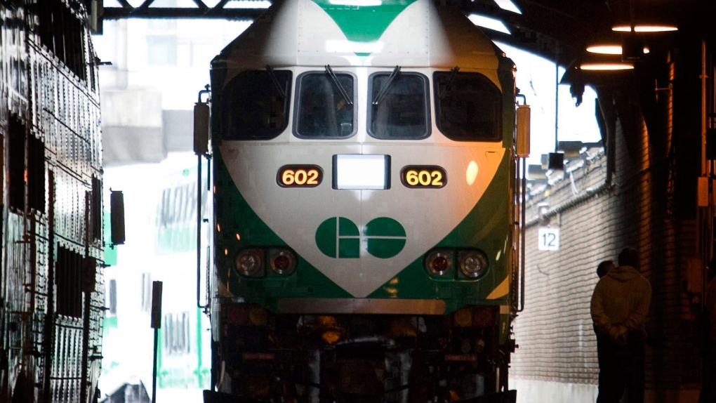 Fatality on GO Train Barrie Line suspends service