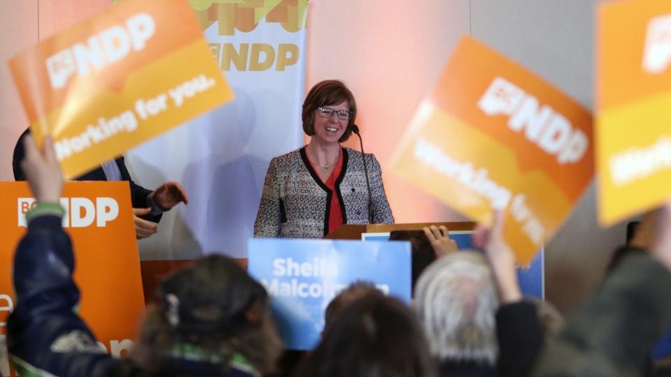 NDP candidate Shiela Malcolmso