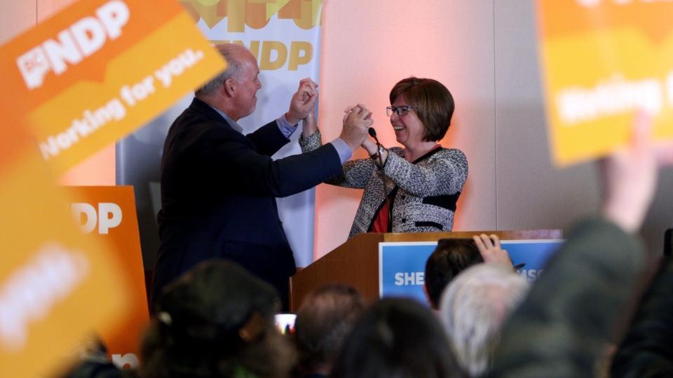 NDP candidate Shiela Malcolmson
