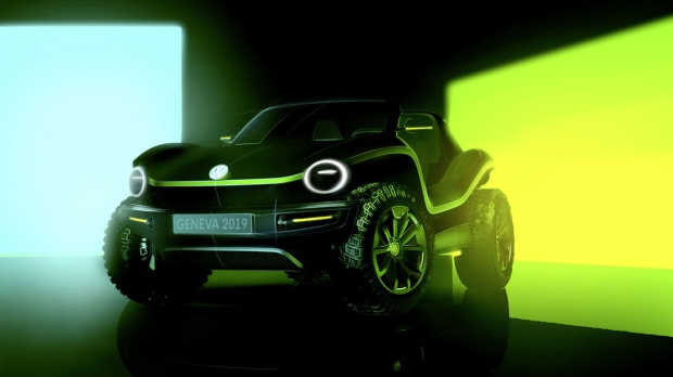 Volkswagen electric dune buggy revealed in new images