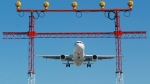 An airplane prepares to land at Pearson International Airport in Toronto, Thursday September 30, 2004. Air safety authorities say the runway setup at Toronto's Pearson International Airport poses a serious risk of crashes. THE CANADIAN PRESS/ Adrian Wyld