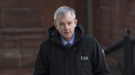 Dennis Oland heads to the Law Courts in Saint John, N.B., on Tuesday, Jan. 29, 2019 as his trial in the bludgeoning death of his millionaire father, Richard Oland, continues. (THE CANADIAN PRESS/Andrew Vaughan)