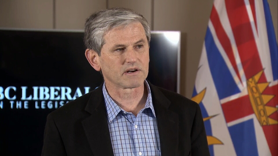 BC Liberal Leader Andrew Wilkinson speaks to reporters the day after the party's byelection loss in Nanaimo. Jan. 31, 2019.