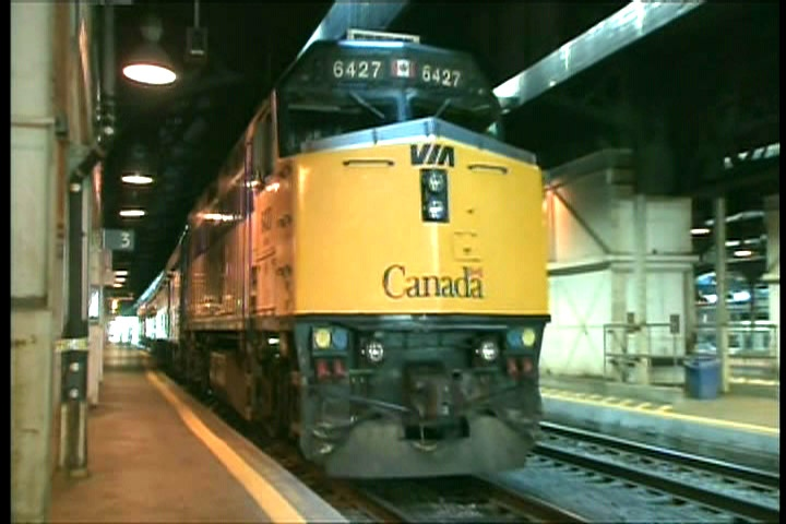 The trains were expected to be back to their usual routes at around 8:30 a.m. Thursday.
