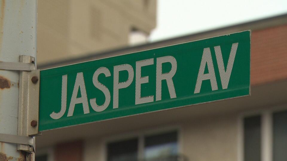 Jasper Avenue sign