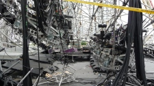 2012 Downview stage collapse