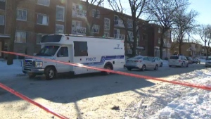 A 70-year-old woman was stabbed to death on the morning of Fri., Feb. 1, 2019 and police have arrested a man of a similar age.