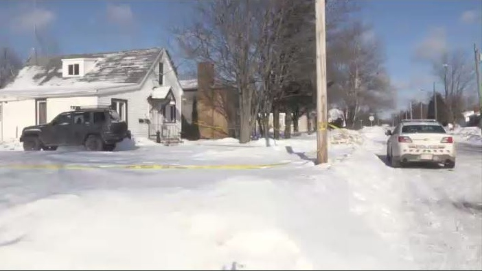 Codiac RCMP responded to a call Wednesday night at this residence on Whitney Avenue.