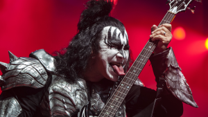 """Legendary rockers KISS launch their """"End of the Road"""" farewell tour at Rogers Arena in Vancouver, B.C. on Jan. 31, 2019. (Photographer: Anil Sharma)"""