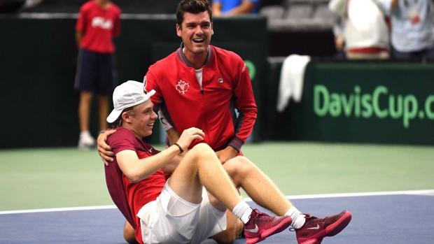 a8a3895e4 Teens advance Canada to Davis Cup final with 3-2 win over Slovakia ...
