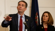 Virginia Gov. Ralph Northam and his wife Pam