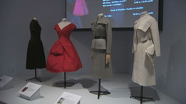 calgary, christian dior, fashion, glenbow museum,