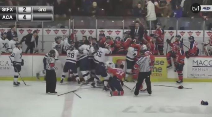 hockey brawl